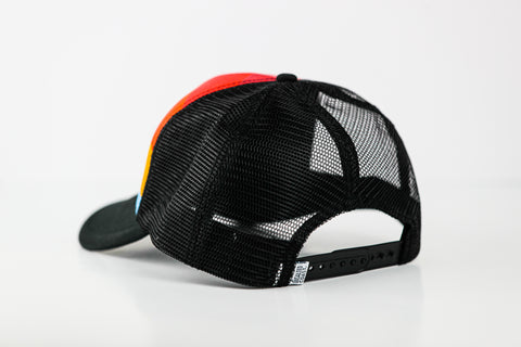 Stripe Trucker