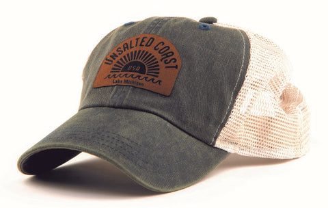Sunburst trucker hat