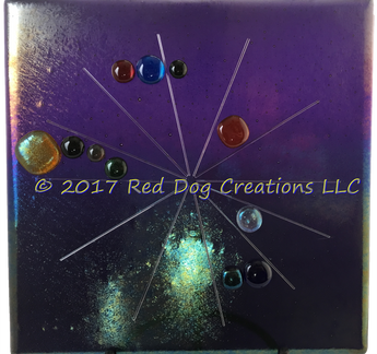 Astrological (Natal) Chart - Large - Fused Glass