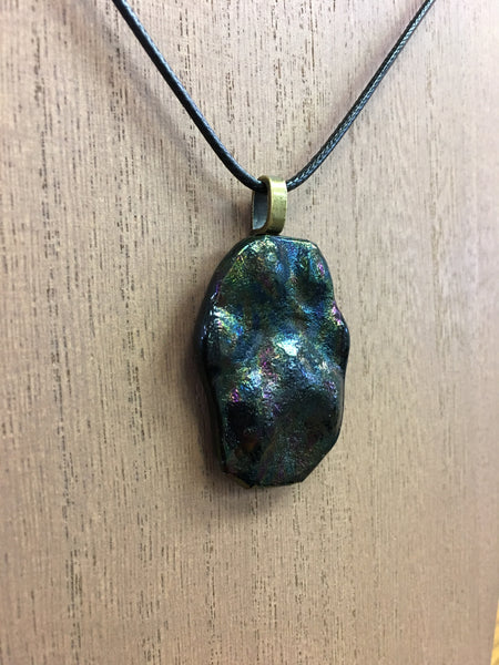 "Glass Tracks - ""Off the Shelf"" - Necklace"
