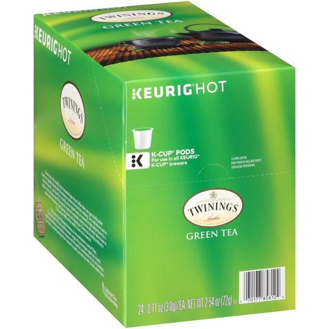 Discounted - Twinings of London, Green Tea, K-cup (24 Count)