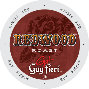 Guy Fieri Redwood Roast Blend coffee, k-cup 2.0 compatible
