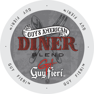 Guy FIeri American Diner Blend coffee, k-cup 2.0 compatible
