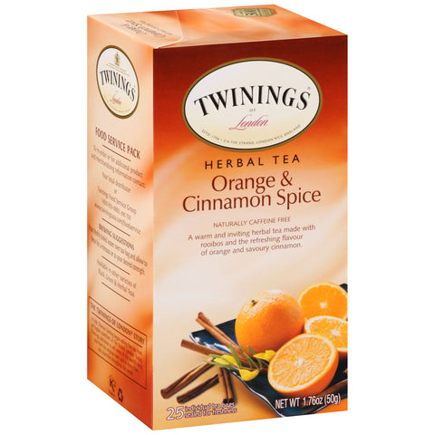 Twinings Of London, Orange and Cinnamon Spice Tea