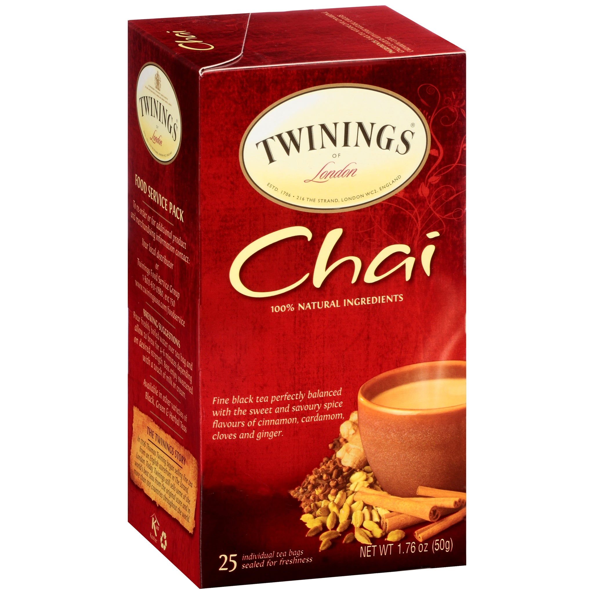 Twinings Of London, Chai Tea