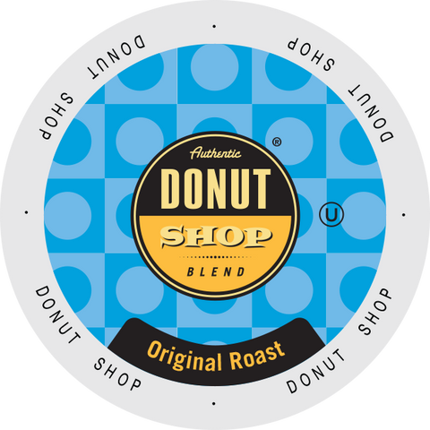 Authentic Donut Shop Original Blend coffee, k-cup 2.0 compatible