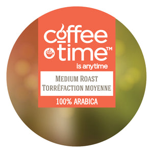 Coffee Time Medium Roast, k-cup 2.0 compatible