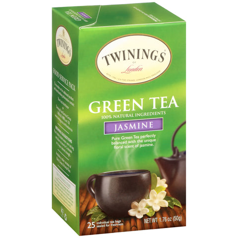Twinings Of London, Green Tea with Jasmine Tea