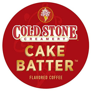 Cold Stone Cake Batter 4 x 18ct Single Cup