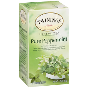 Twinings Of London, Pure Peppermint Tea
