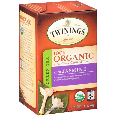 Twinings of London, Organic Green Jasmine