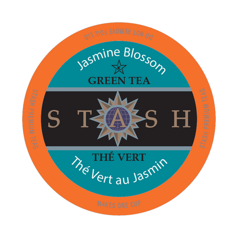 Stash Tea Jasmine Blossom, k-cup 2.0 compatible