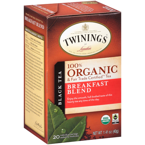 Twinings Of London, Organic English Breakfast Tea