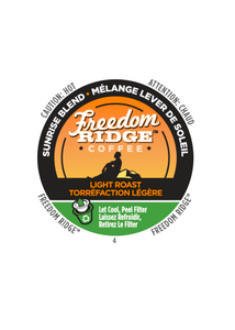 Freedom Ridge Sunrise  Light Roast 70ct Single Cup