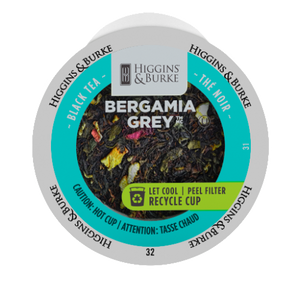 Higgins and Burke Bergamia Grey Loose Tea, k-cup 2.0 compatible