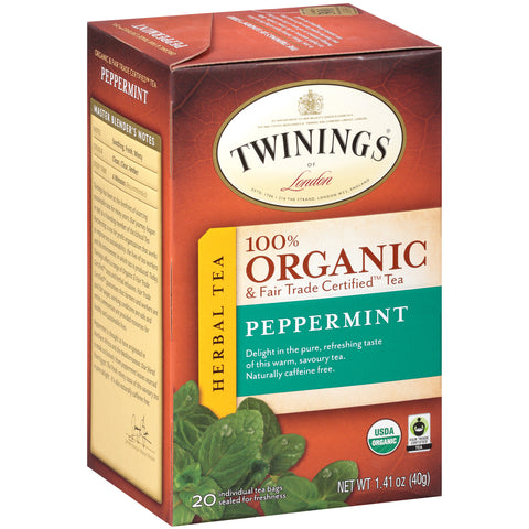 Twinings of London, Organic Peppermint