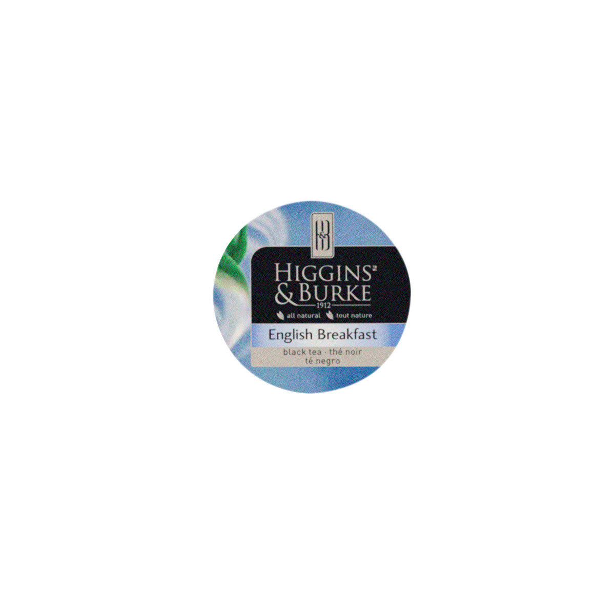 Higgins and Burke English Breakfast Tea, k-cup compatible