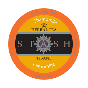 STASH CHAMOMILE HERBAL TEA, k-cup 2.0 Compatible