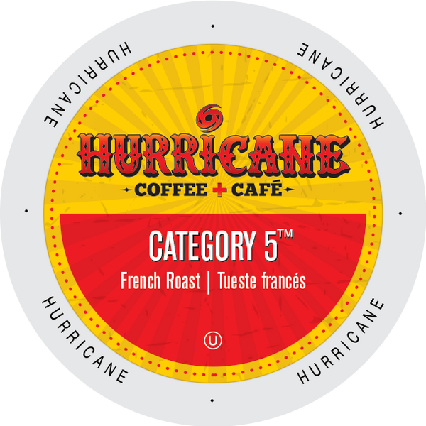 Damage  Hurricane Coffee Category 5 coffee, k-cup 2.0 compatible - 20 Cups