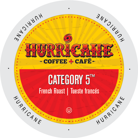 Hurricane Coffee Category 5 coffee, k-cup 2.0 compatible