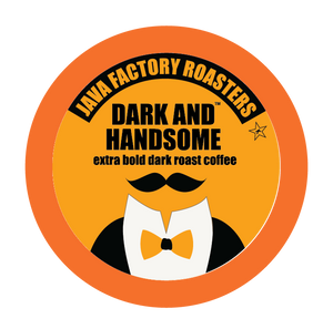 Java Factory Dark and Handsome, k-cup 2.0 compatible