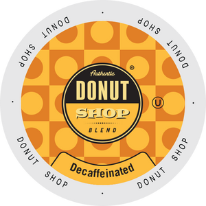 Authentic Donut Shop DECAF Donut Shop Original Blend coffee, k-cup 2.0 compatible