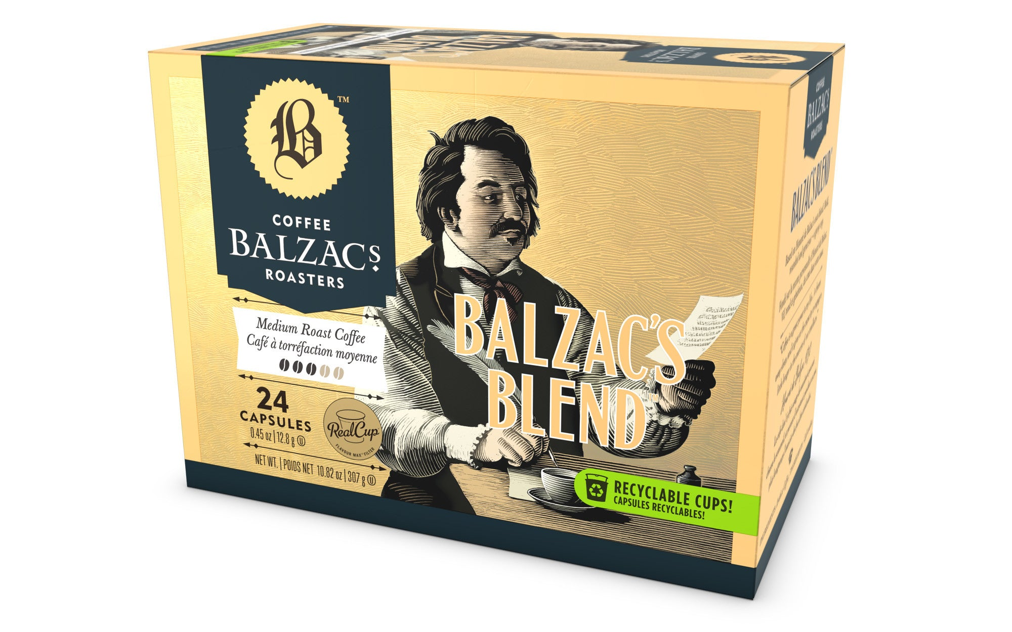Balzac's Coffee - Balzac's Blend Coffee, k-cup 2.0 compatible