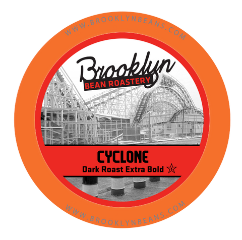 Brooklyn Bean Cyclone, dark roast, k-cup 2.0 Compatible
