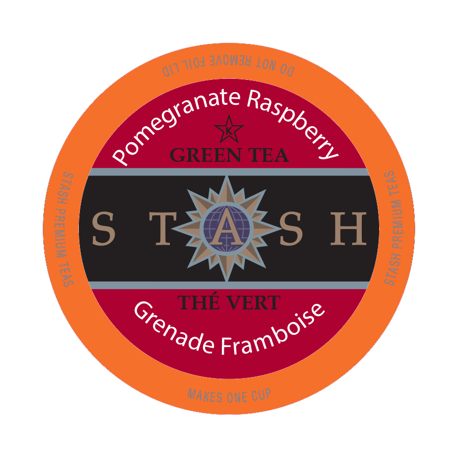 Stash Tea Pomegranite Raspberry Tea, k-cup 2.0 compatible