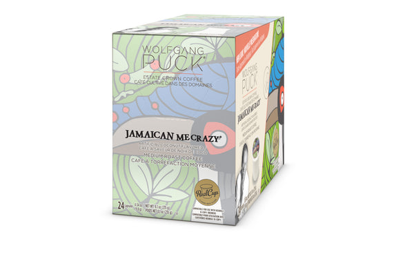 Wolfgang Puck Jamaica Me Crazy flavored coffee, k-cup 2.0 compatible