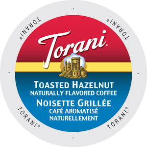 Torani Toasted Hazelnut flavored coffee,K-cup  2.0 compatible