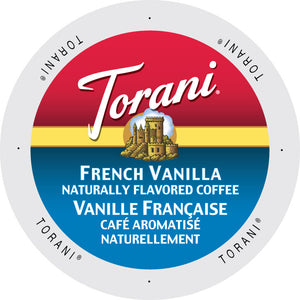 Torani French Vanilla flavored coffee, k-cup  2.0 compatible