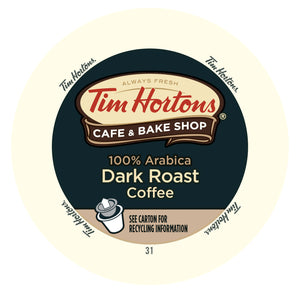 Tim Horton Dark Roast coffee, k-cup 2.0 compatible