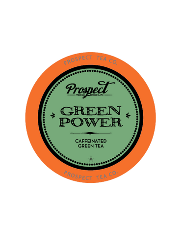 Discounted - Prospect Tea Green Power, k-cup 2.0 compatible