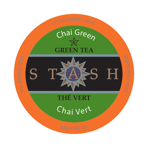 Stash Chai Green Tea, k-cup  2.0 compatible,