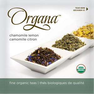 Organa Tea Pods  - Organic Chamomile Lemon Herbal  Tea