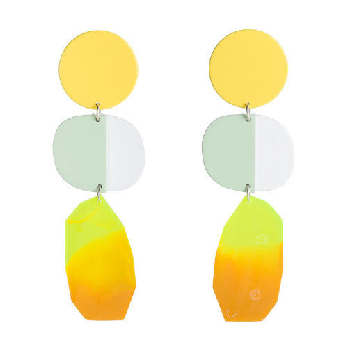 OVERSIZED JEWEL EARRINGS