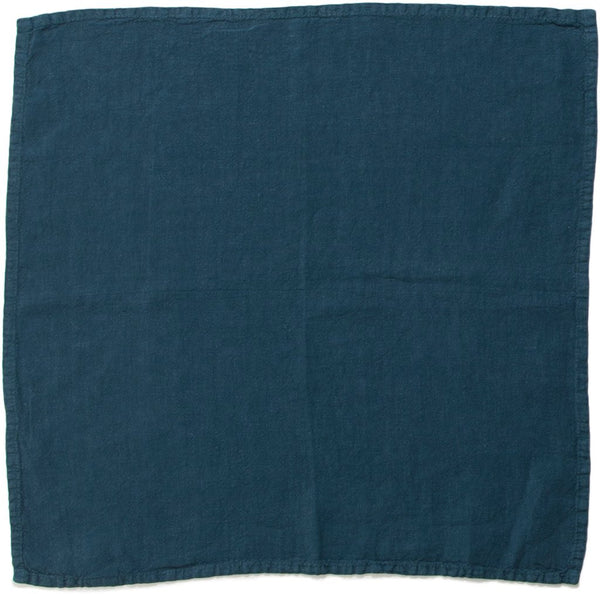 SIMPLE LINEN NAPKINS PEACOCK