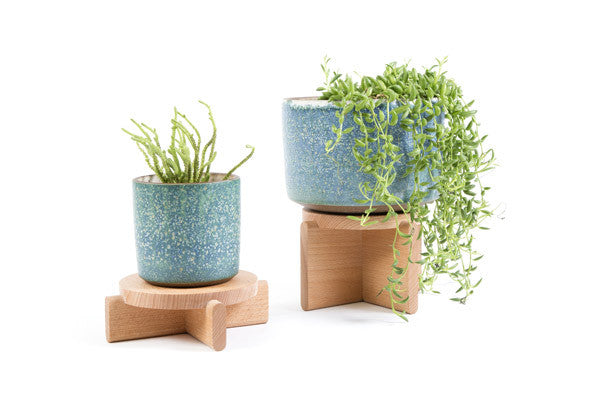 PLANT PEDESTAL (Set of 2)