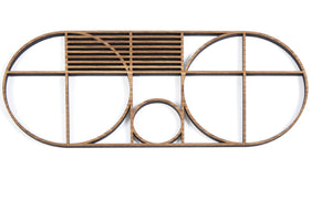 OVAL OUTLINE TRIVET