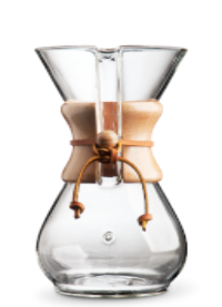 6 CUP CHEMEX COFFEE MAKER