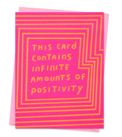 INFINITE POSITIVITIE - CARD