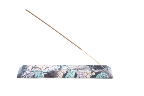 CONCRETE INCENSE HOLDER - CHARCOAL