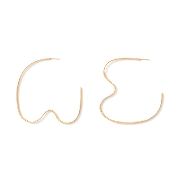 FORMATION EARRINGS - GOLD