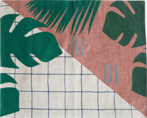 JUNGLE GRID PLACEMATS
