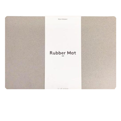 RUBBER MAT GREY