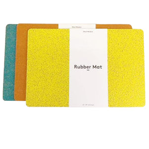 RUBBER MAT YELLOW