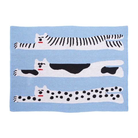 COOL CATS MINI THROW