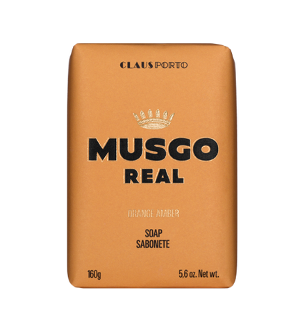 MUSGO REAL BODY SOAP - ORANGE AMBER