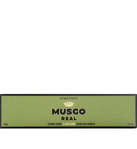 MUSGO REAL SHAVING CREAM - CLASSIC